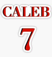 Caleb Bratayley #7 Jersy Sticker