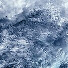 Abstract Clouds Over Ocean Satellite Image by Jim Plaxco