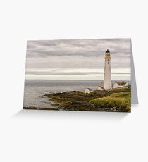 Scurdie Ness Lighthouse Greeting Card