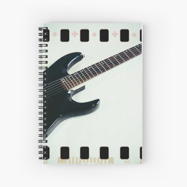 Engedi 1 Film Positive Spiral Notebook