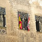 Segovia, Spain - 3 Windows by Michelle Falcony