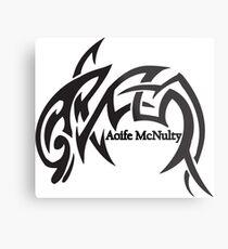Aoife McNulty Logo Metal Print