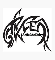 Aoife McNulty Logo Photographic Print