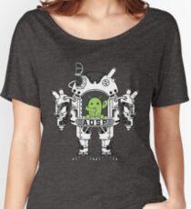 Android AOSP Mech Women's Relaxed Fit T-Shirt