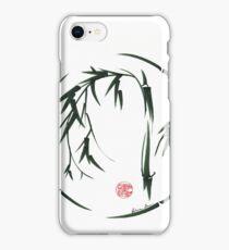 VISIONARY Original sumi-e enso ink brush wash painting iPhone Case/Skin