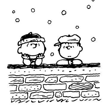 Charlie Brown y Linus de AllisonKe