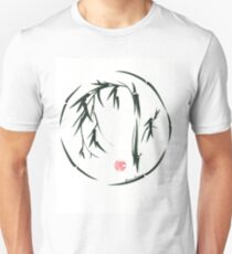 VISIONARY Original sumi-e enso ink brush wash painting Unisex T-Shirt