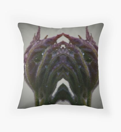 It Comes from the Garden Throw Pillow