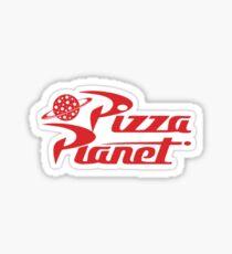 Pizza Planet sticker Sticker