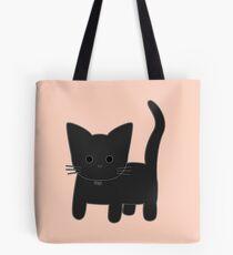 Theo Cat - Peach Tote Bag