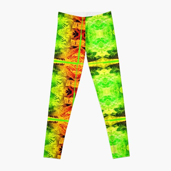 Ferns 2G Light Fractal B Leggings