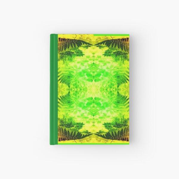 Ferns 2G Light Fractal B Hardcover Journal
