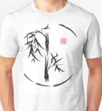 PASSAGE  - Original sumi-e enso ink brush art T-Shirt
