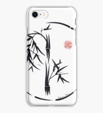 PASSAGE  - Original sumi-e enso ink brush art iPhone Case/Skin