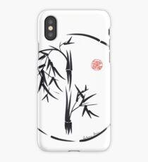 PASSAGE  - Original sumi-e enso ink brush art iPhone Case