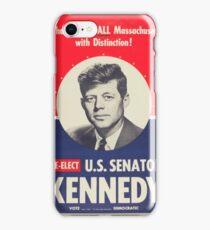 Re-Elect U.S. Senator Kennedy iPhone Case/Skin