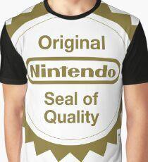 Nintendo Original Seal of Quality Graphic T-Shirt