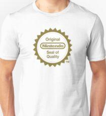 Camiseta ajustada Sello original de calidad de Nintendo
