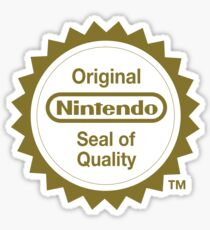 Pegatina Sello original de calidad de Nintendo