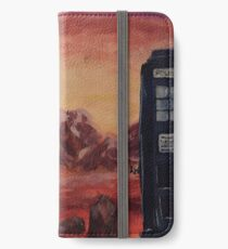 Gallifrey Watercolour iPhone Wallet