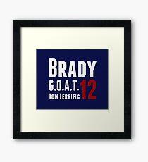 Brady Framed Print