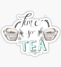 Time for tea! Sticker