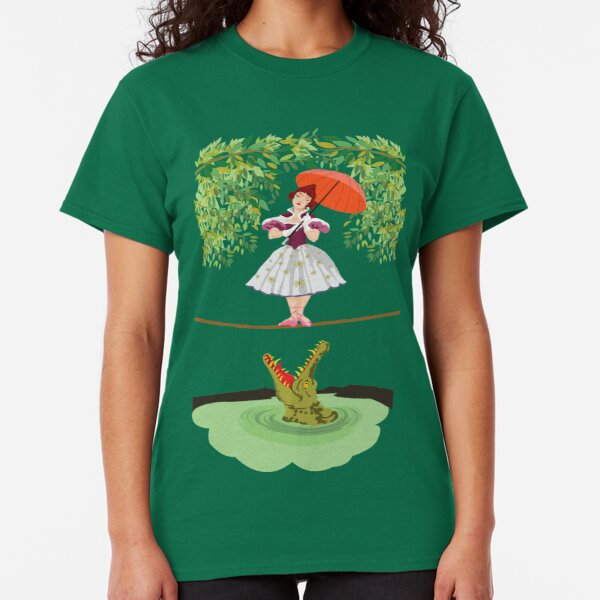 Cute halloween The crocodile girl Deadly circus Classic T-Shirt