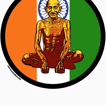 Gandhi Lotus by neonsandwich