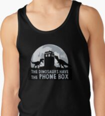 the dinosaurs have the phone box T-Shirt