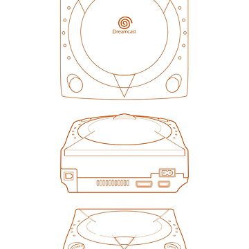 Dreamcast - Blueprint Design de Frenchican