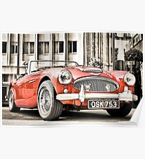 Austin Healey: Posters | Redbubble