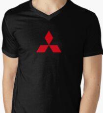 Mitsubishi  Men's V-Neck T-Shirt