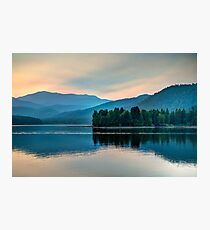 Sunset Over Lake Shasta (Limited Edition) Photographic Print