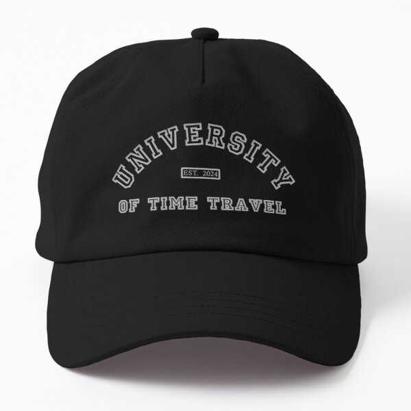 University Of Time Travel Dad Hat