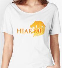 Hear Me! Women's Relaxed Fit T-Shirt