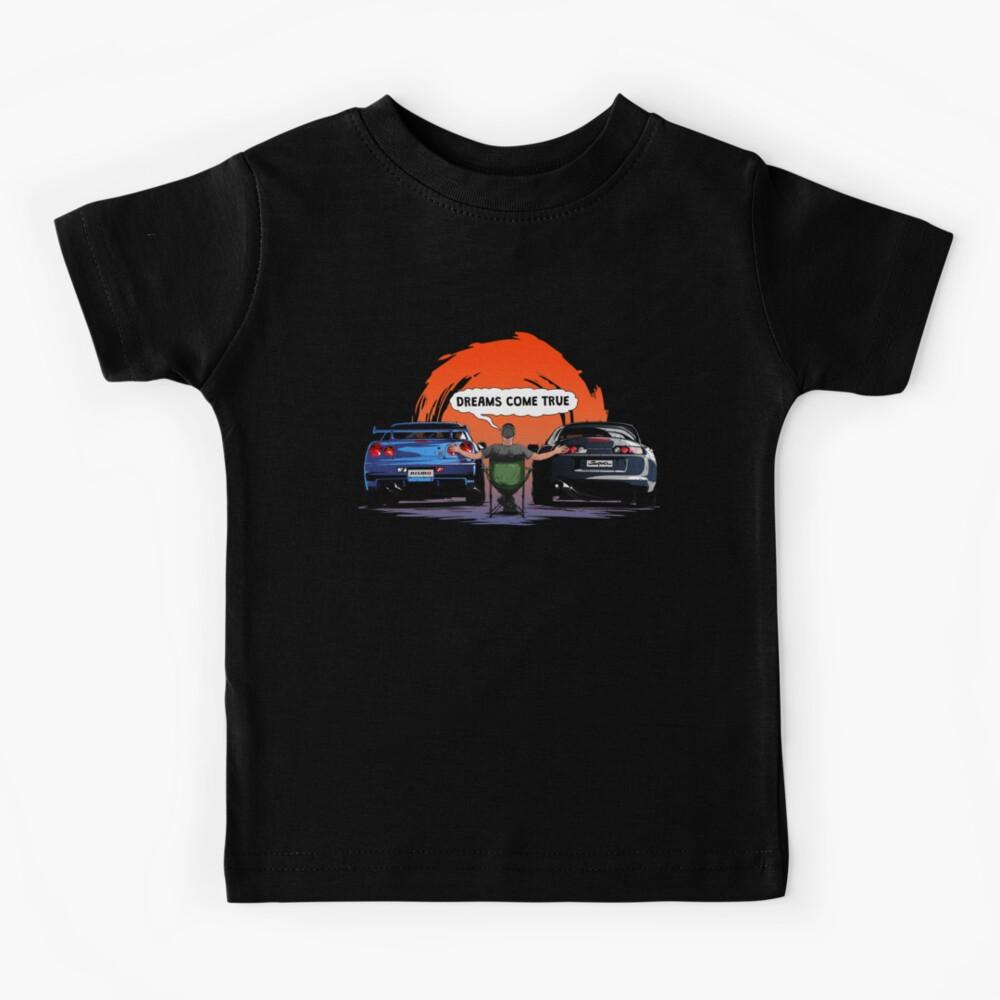 TOYOTA Supra and Nissan SKYLINE  Kids T-Shirt