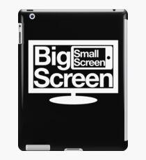 Big Screen Small Screen iPad Case/Skin