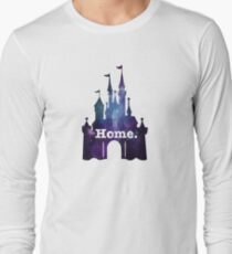 afdc2afb Meet me at my Happy Place Vector Orlando Theme Park Illustration Design  Sleeveless Top. Castle Galaxy Long Sleeve T-Shirt