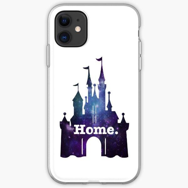 Purple Glitter Home Princess Castle Womens Cotton Tee Shirt Disney Vacation