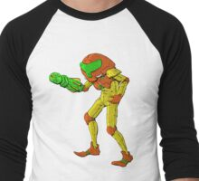 Metroid - NES Tribute Series 1 Men's Baseball ¾ T-Shirt
