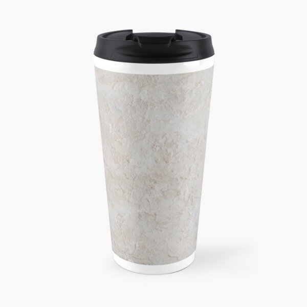 White Contrast Painting #3 Travel Mug
