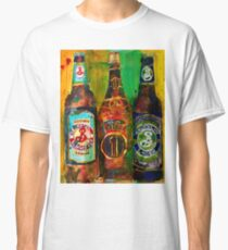 Brooklyn Beer Lager, Summer - Men Cave Classic T-Shirt