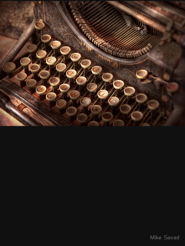 Steampunk - Typewriter - Too tuckered to type by mikesavad