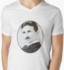 NikolaTesla Men's V-Neck T-Shirt