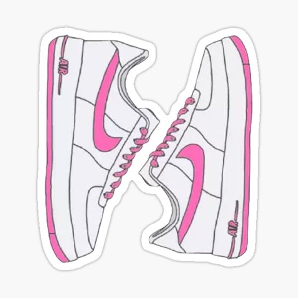 Retro sneakers Sticker