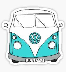 Pegatina Hippie Van