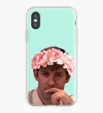 Vinilo o funda para iPhone Jim adornado con las coronas de flores más calientes