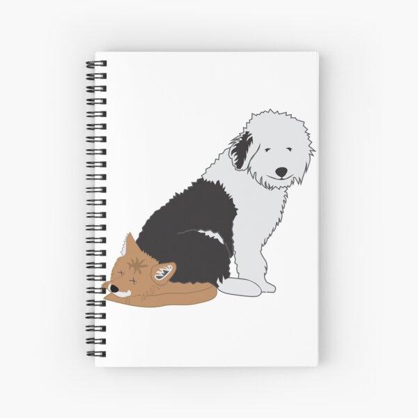hecho A Mano Spaniel Tibetano Perro tarjeta de saludos dos imágenes a escoger