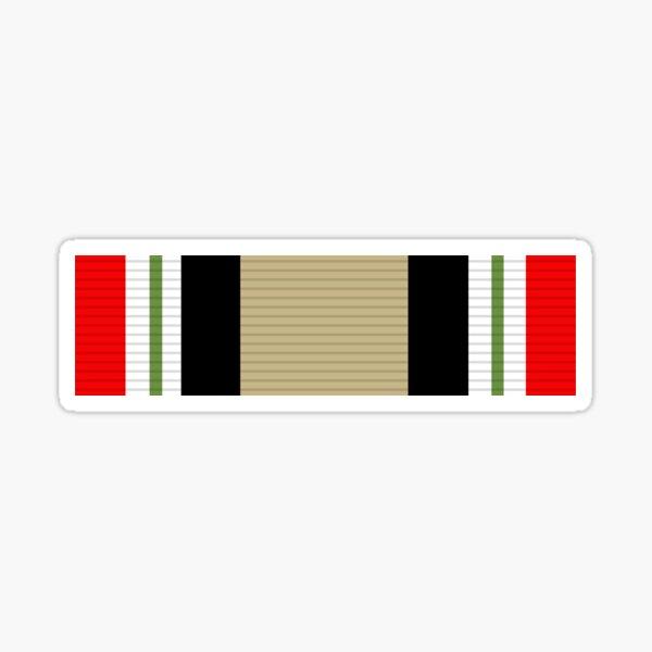 Iraq Campaign ribbon Sticker