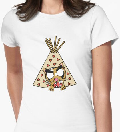 zombie cat cleo in a teepee T-Shirt